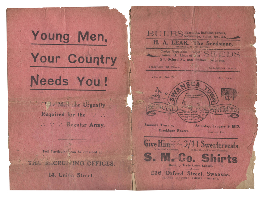 Football and the First World War in South Wales