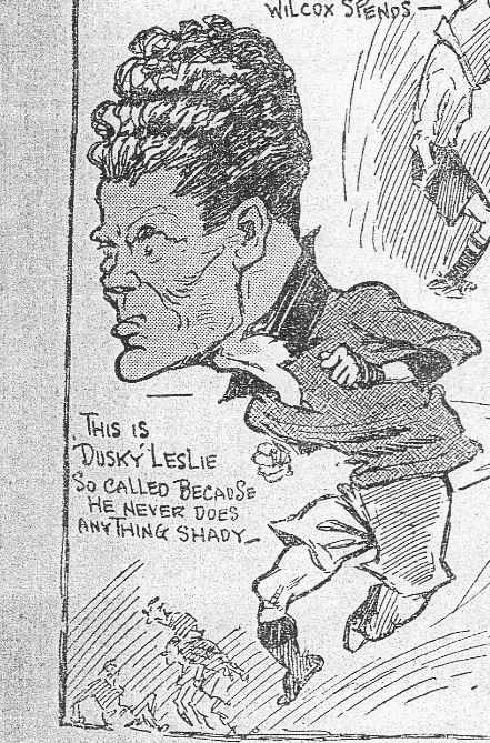 Dusky Leslie SPorts Budget 13 March 1925